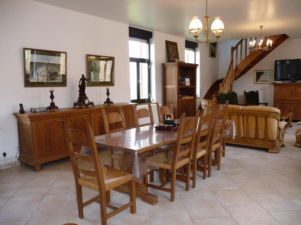Salle à manger<Moulin de Boubert<Mons-Boubert<Baie de Somme<Picardie