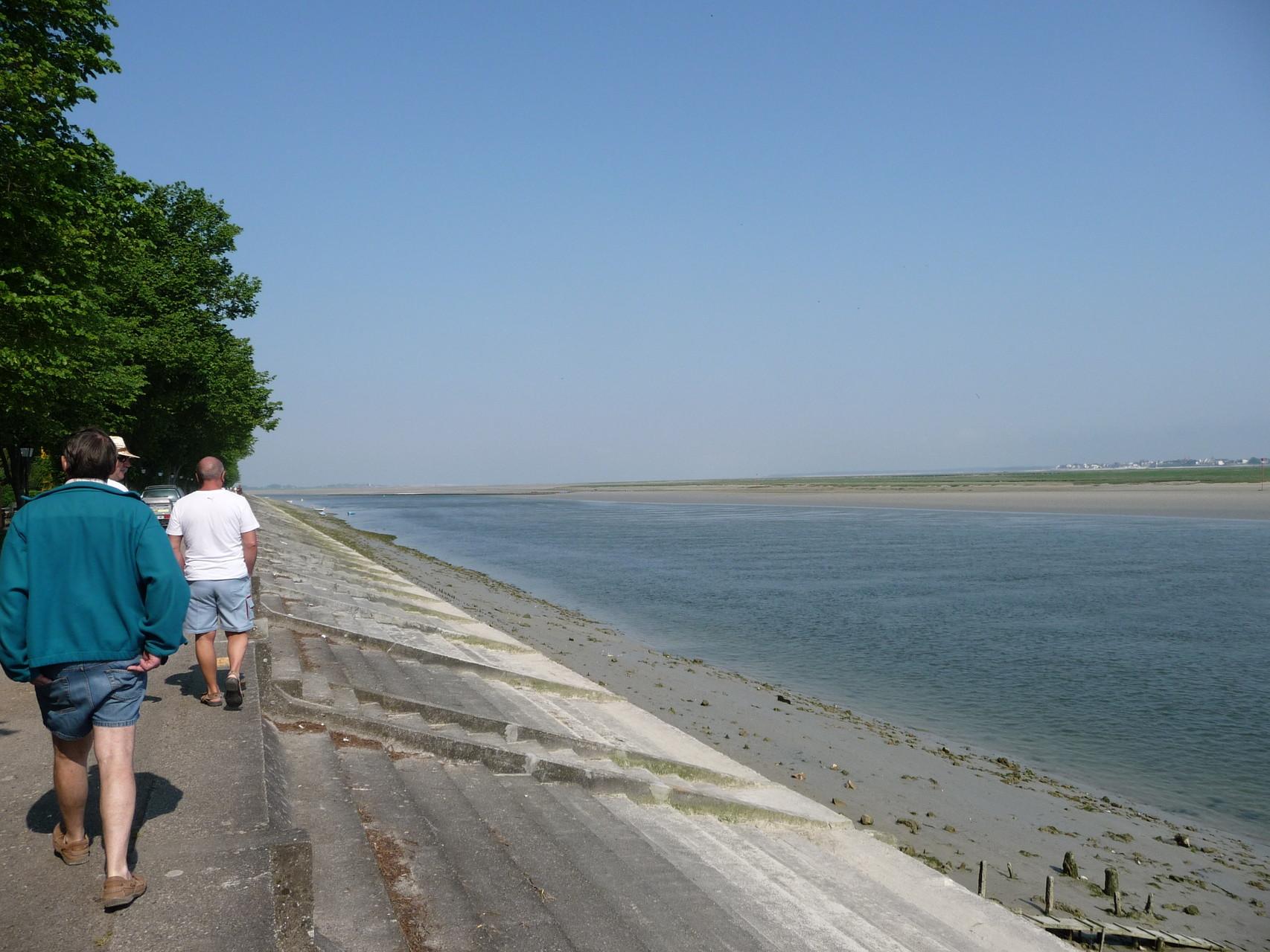 Marée basse sous le soleil - Baie de Somme