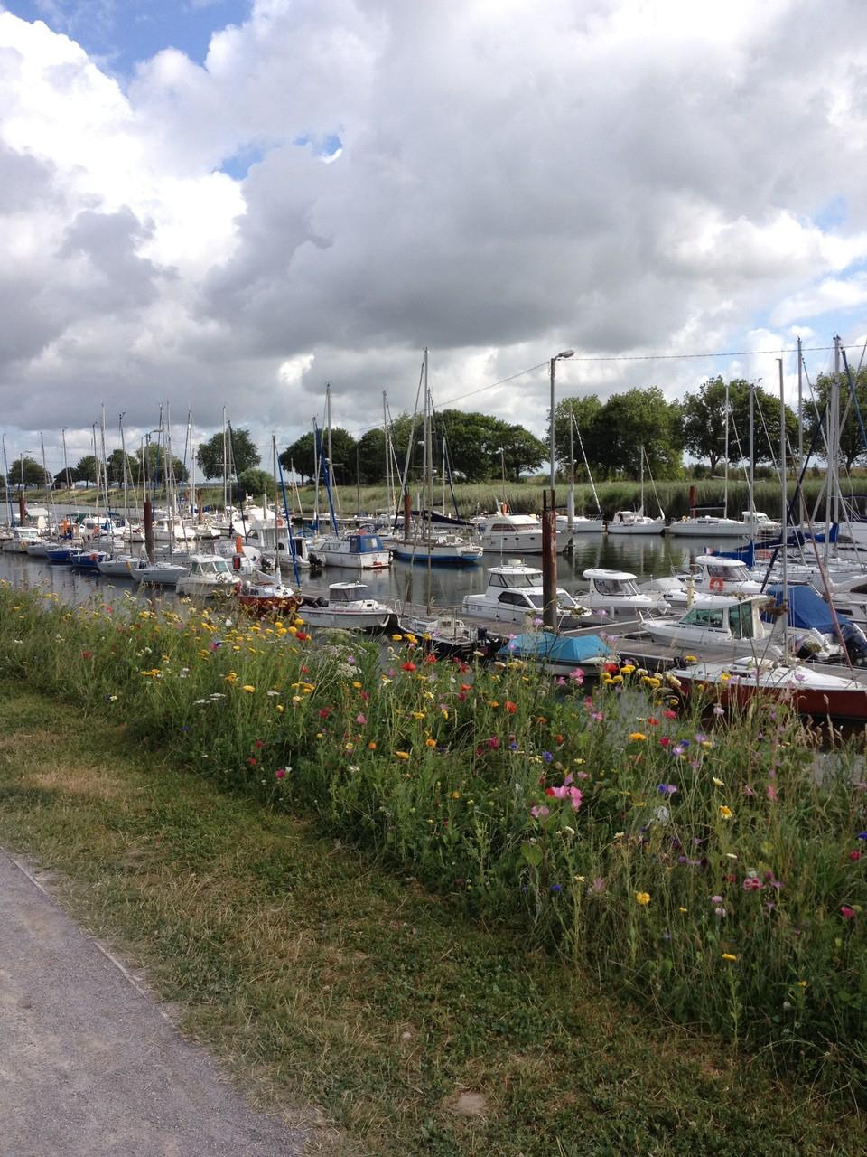 Le port de Saint-Valéry - Baie de Somme