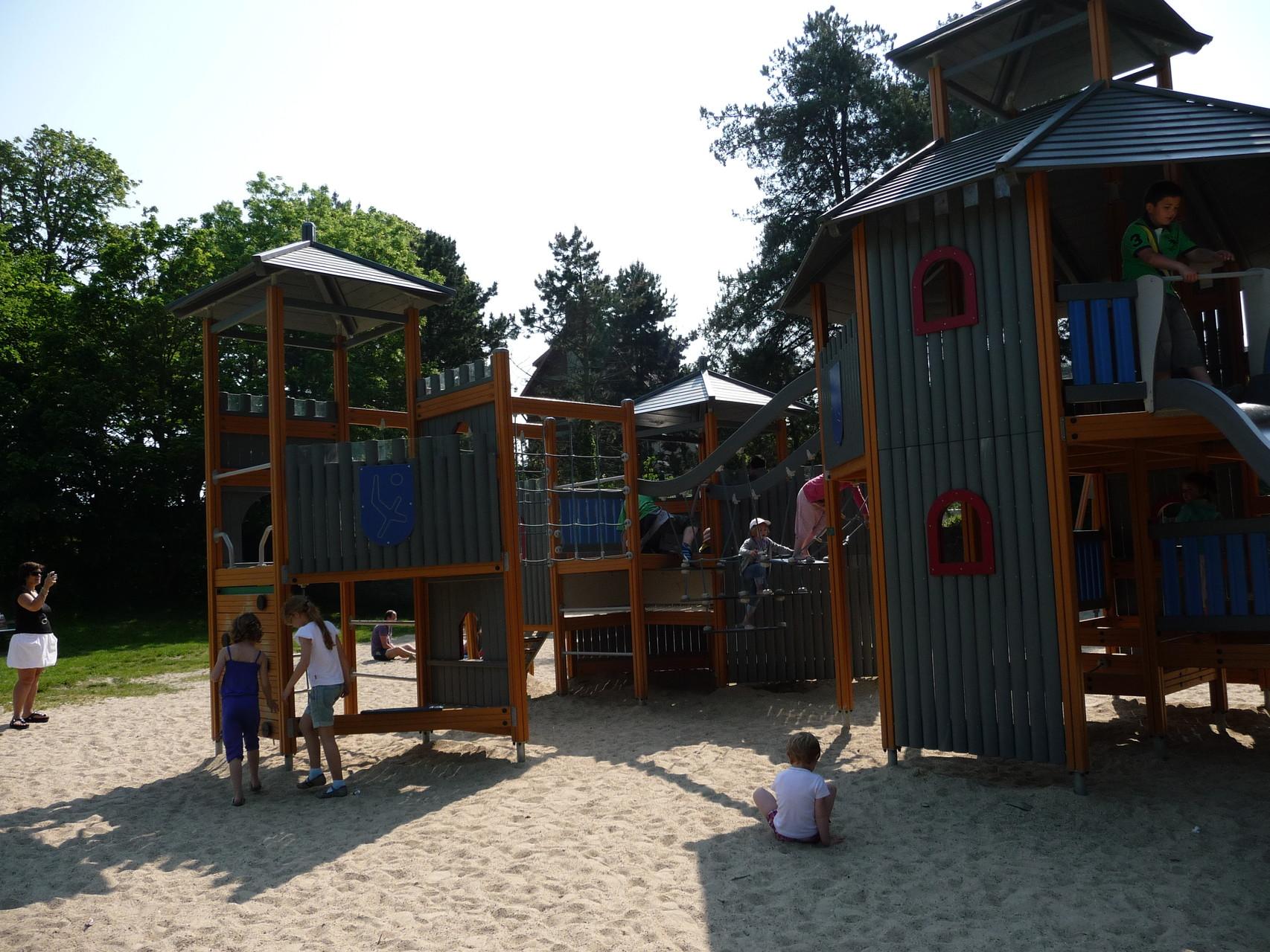 Parc de jeux quai Jeanne d'Arc - Baie de Somme