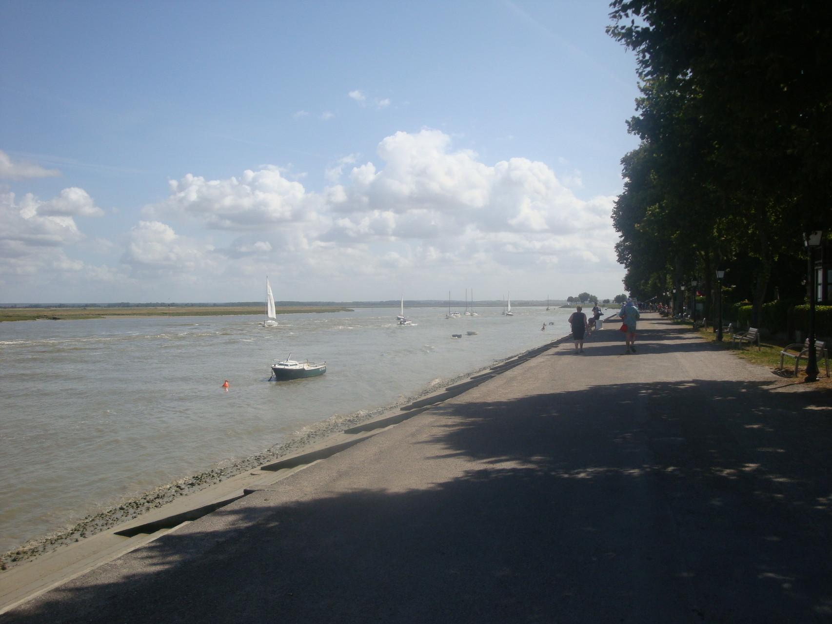 Promenade sur le quai - Baie de Somme