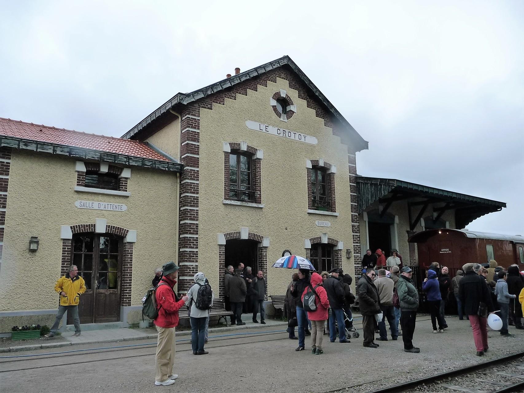 La gare du Crotoy