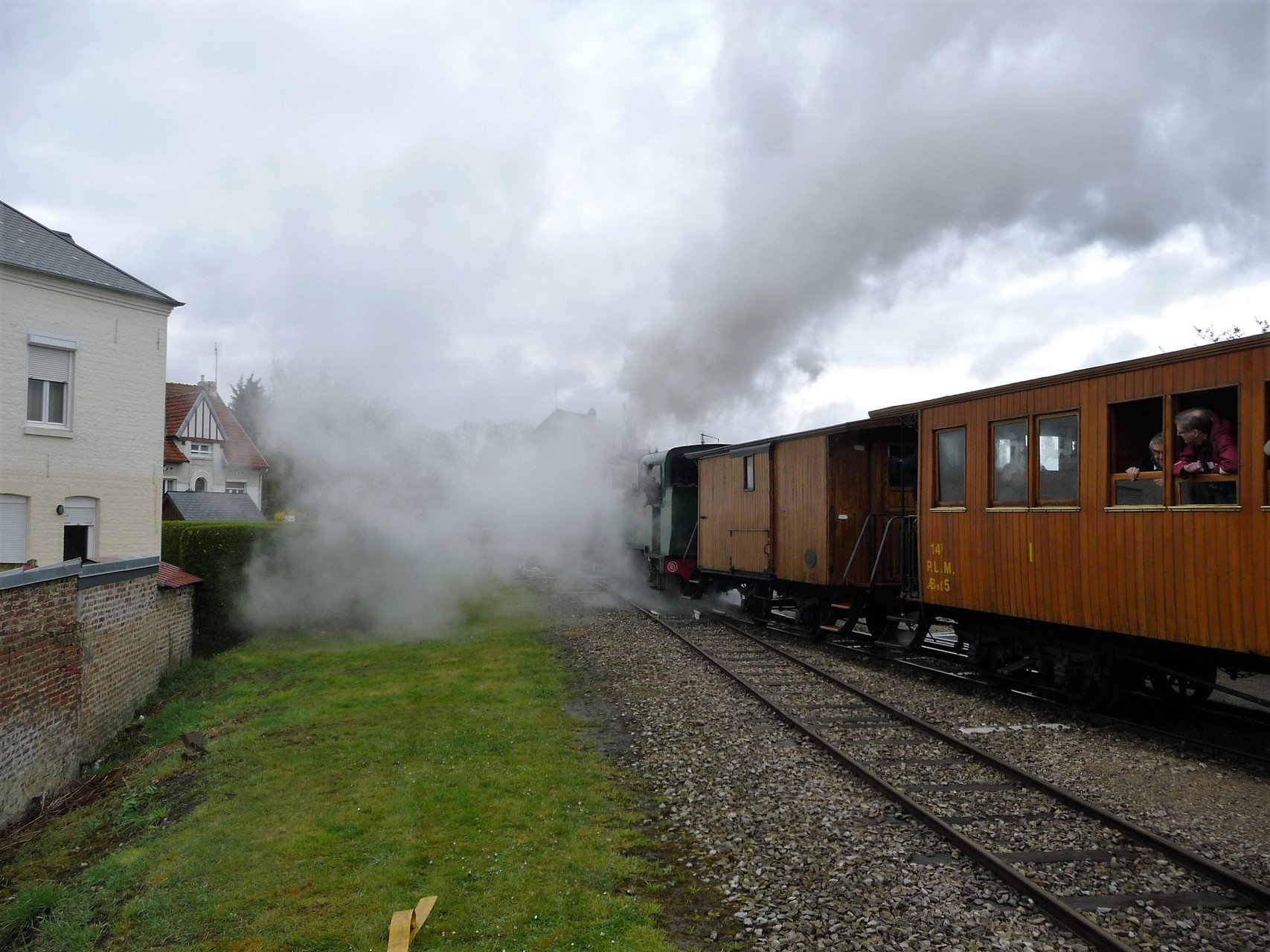 départ de la gare de Saint-Valéry sur Somme vers Cayeux sur Mer
