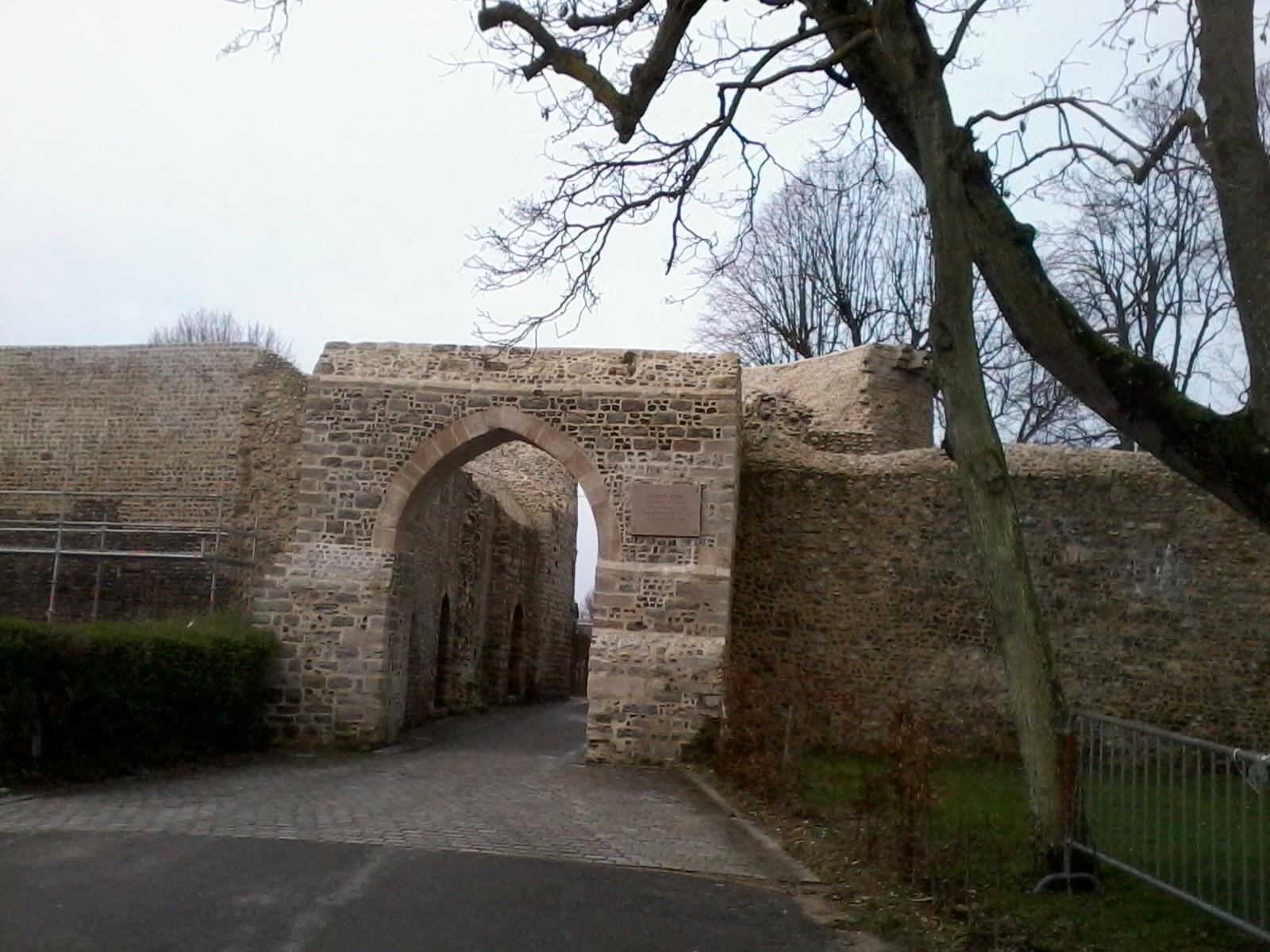 La Porte Jeanne d'Arc en rénovation