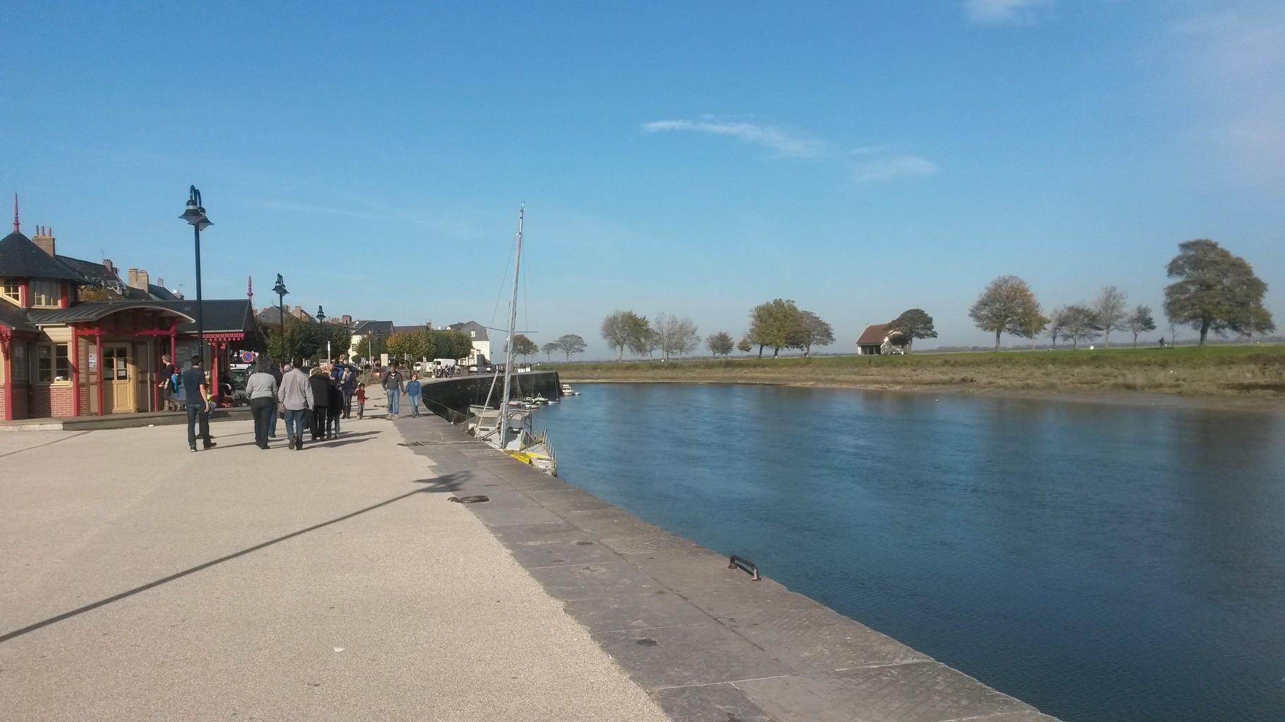 Le quai Blavet - Baie de Somme