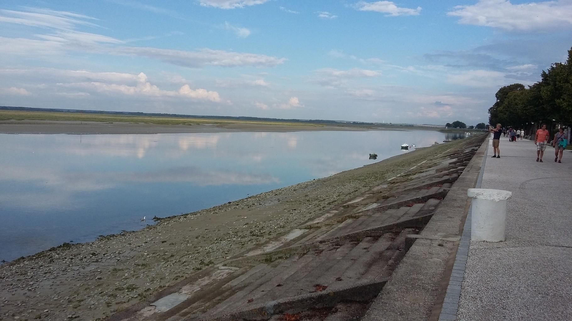 Le quai Jeanne d'Arc - Baie de Somme