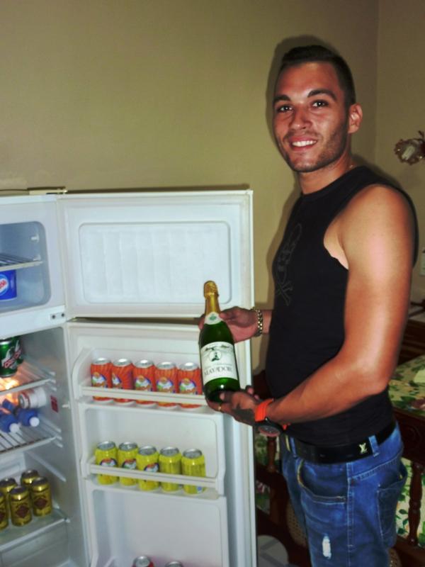 Refrigerador mini-bar siempre a su disposición