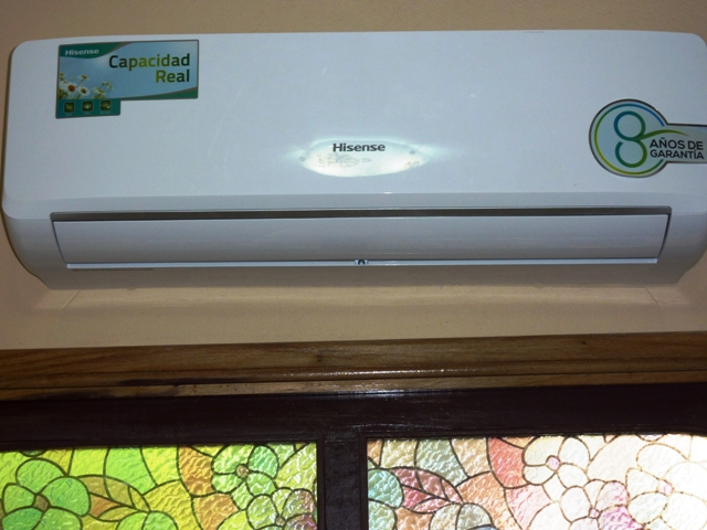 moderno aire acondicionado