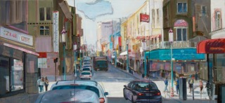 Chinatown San Francisco 140x300 cm