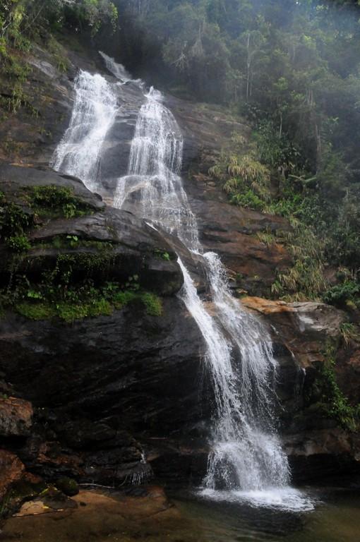 Wasserfall auf dem Weg zum Pico da Tijuca (1021 m), 23.10.2011