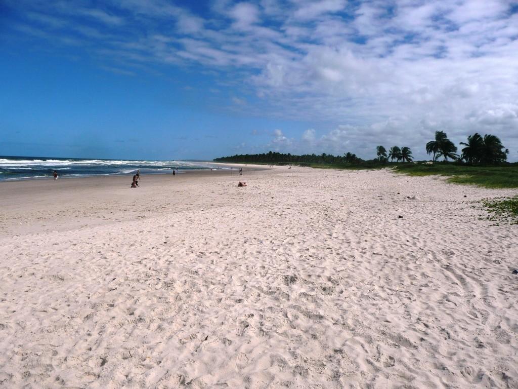 Maceio, Praia do Fraces, 2000 km noerdlich von Rio, Juli 2011