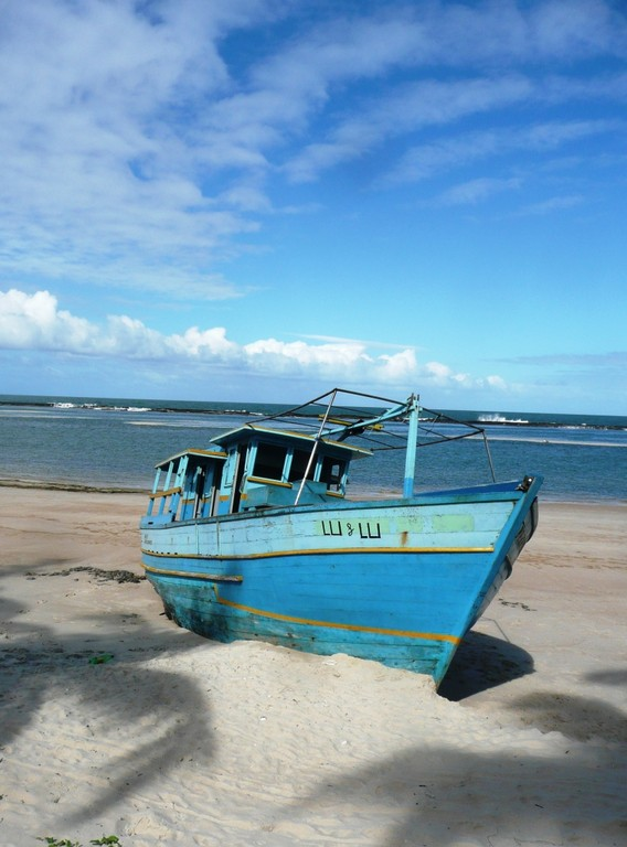 Maceio, Praia do Frances,m 2000 km noerdlich von Rio, Juli 2011