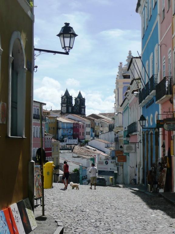 Salvador, ca. 1700 km noerdlich vo Rio, Juli 2011