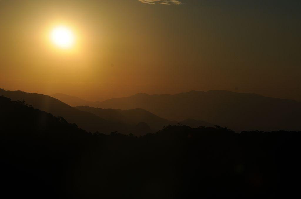 Abendstimmung auf dem Corcovado, 01.05.2011