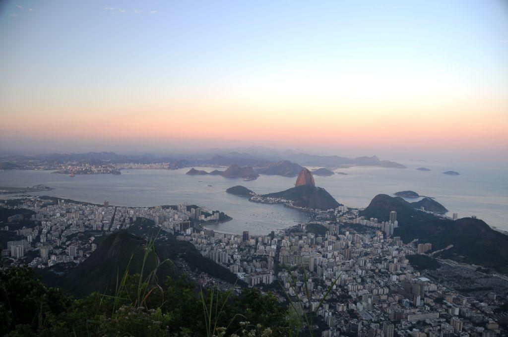 Blick vom 800 m hohen Corcovado, 01.05.2011