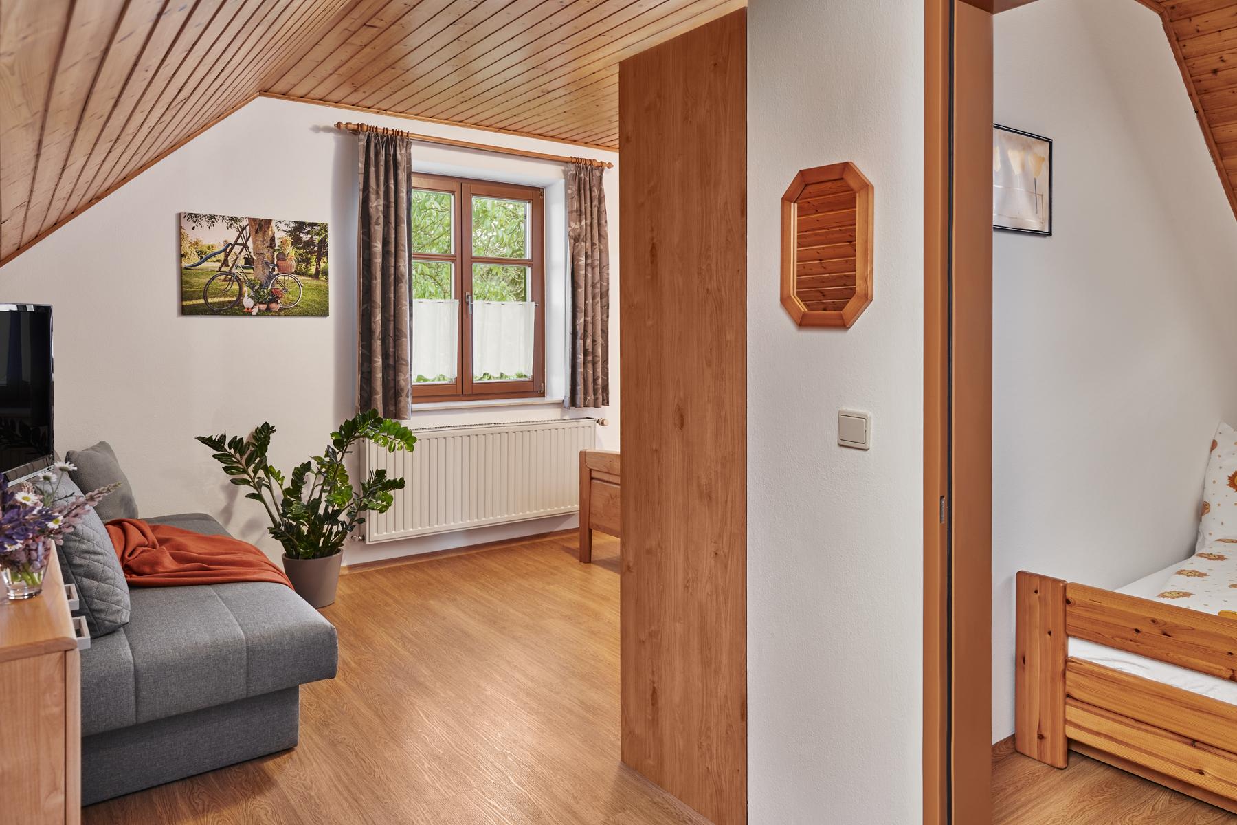 Zimmer Nr. 5 mit einem getrennten Kinderzimmer