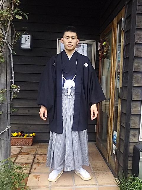 男物紋付き袴レンタル 21,600円