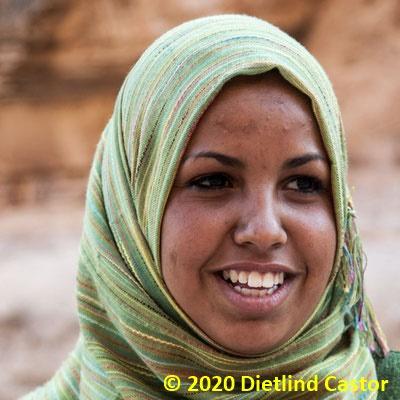 Frau in Jordanien © 2020 Dietlind Castor
