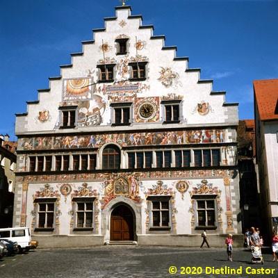 Lindau Altes Rathaus von der Südseite © 2020 Dietlind Castor