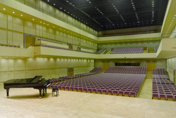 Akustikbau in einem Konzertsaal von der CMS Fassadengestaltung GmbH
