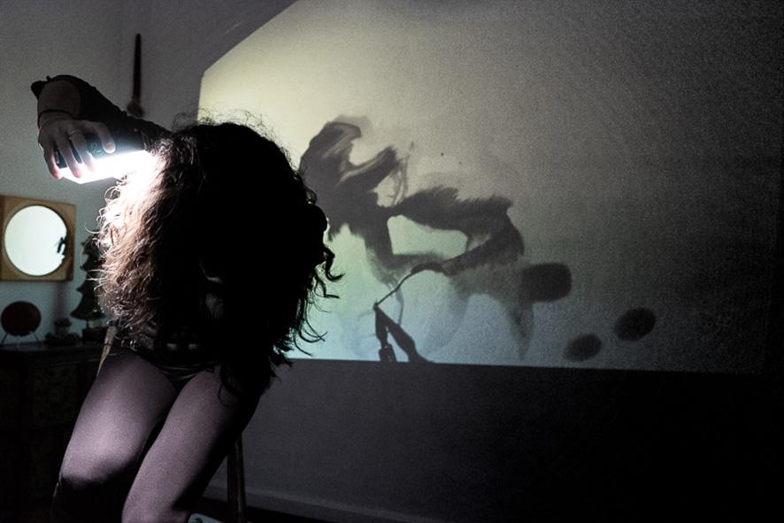 Corinne Pagny | Dessin - Technique mixte - Performance | Photo ©Nathalie Sapin