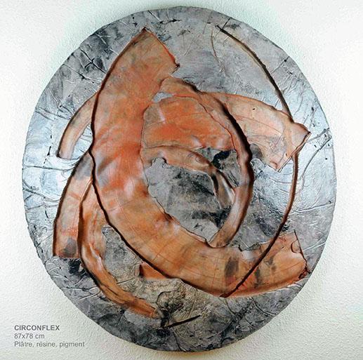 Onztroy - Sculpture Peinture mixte