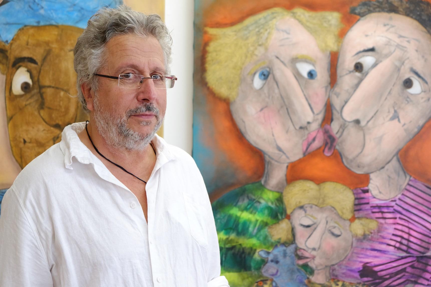 Alain Vilacéque | Peinture - Technique mixte