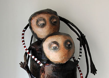 Evelyne Maubert - Peinture Sculpture