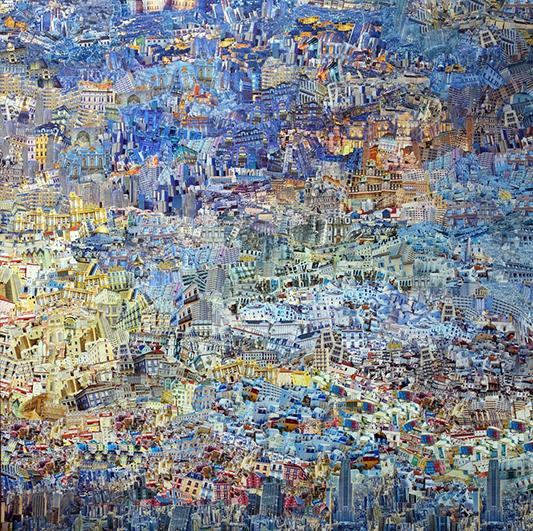 Christine Béglet | Collage Peinture