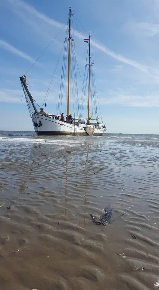 Trockenfallen im Wattenmeer