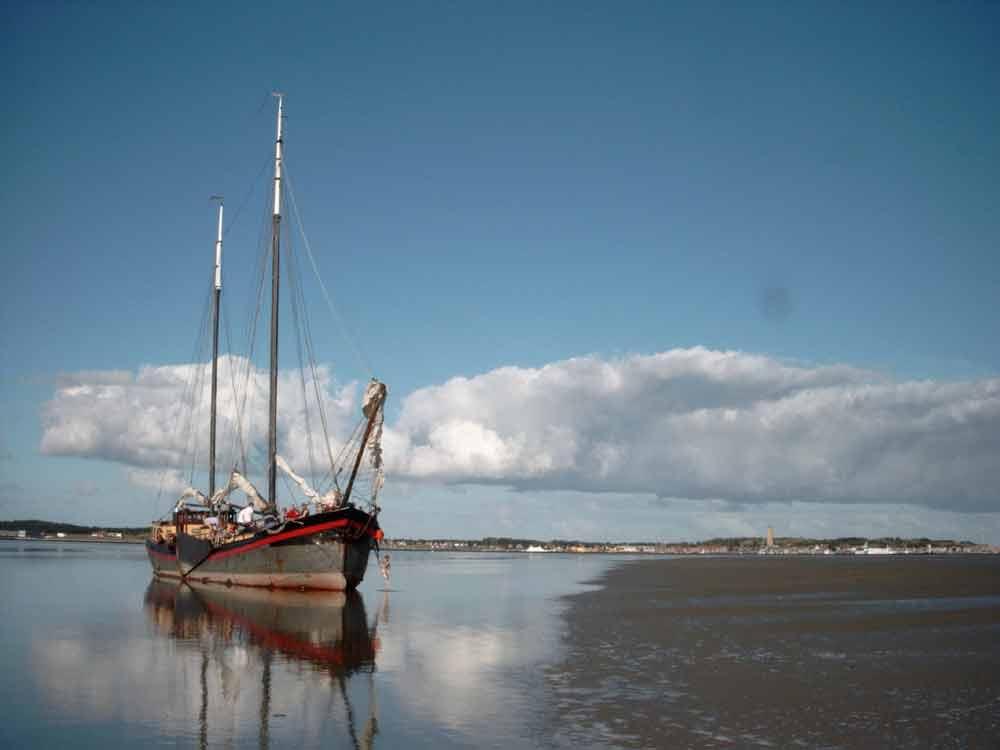 Segelschiff Klipper Anna
