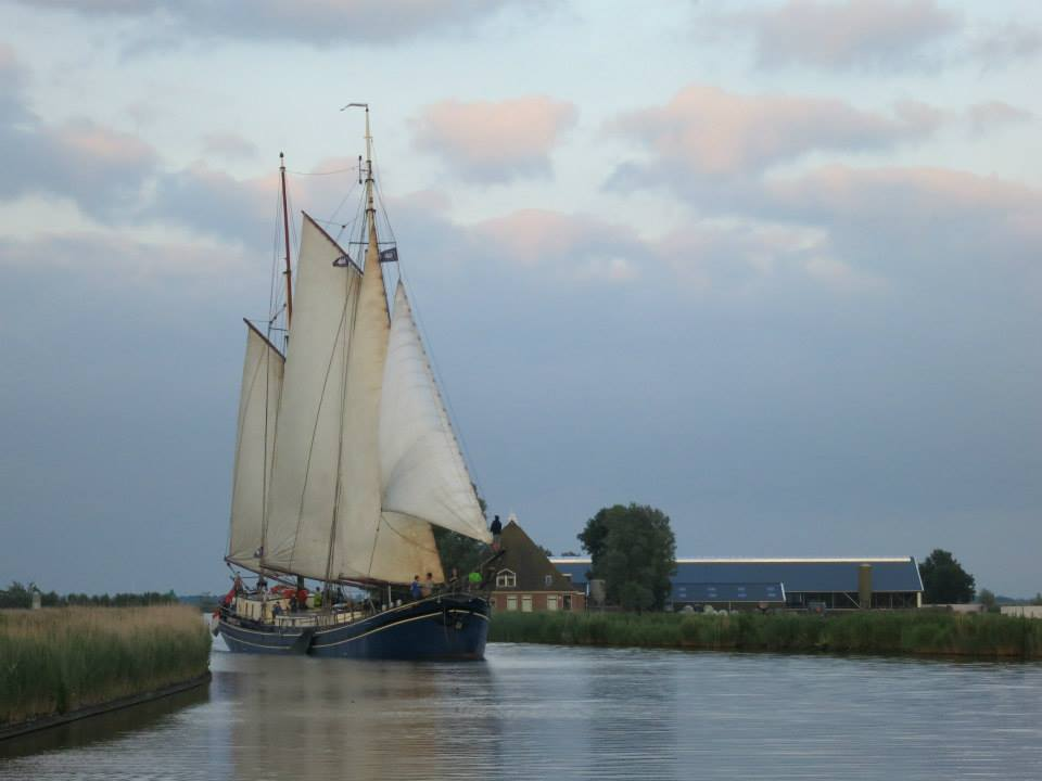 Segelschiff Poolster
