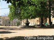 Plaza del Santuario de la Misericordia - Borja