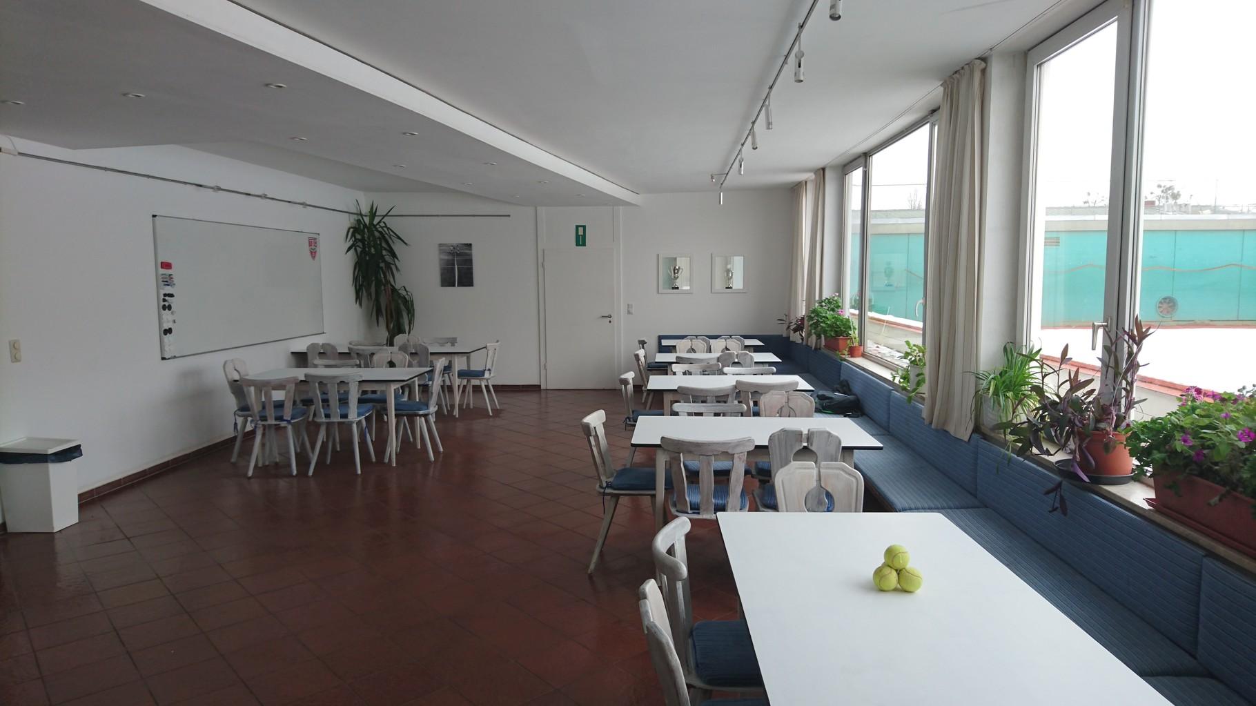 Tennis, München, Pasing, Clubraum