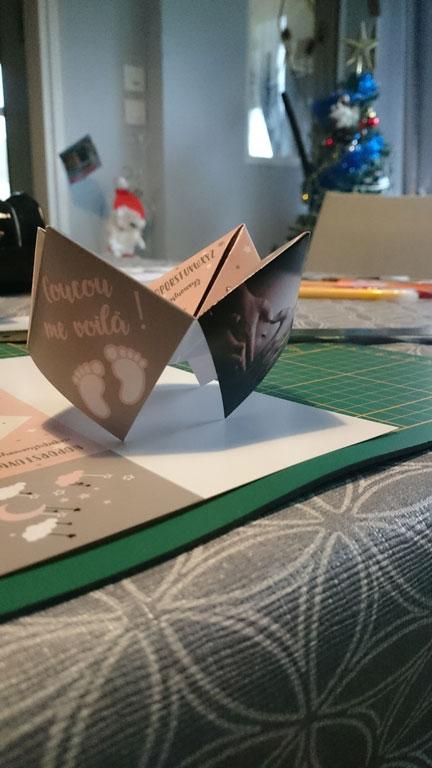 faire-part cocotte en papier