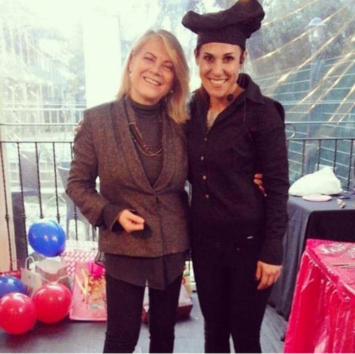 Rai televisione italiana  Susanna Petruni con pinky