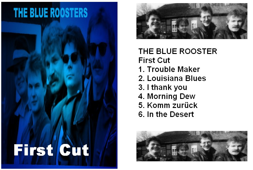 Fotos: Blue Roosters 'First CD -Cover