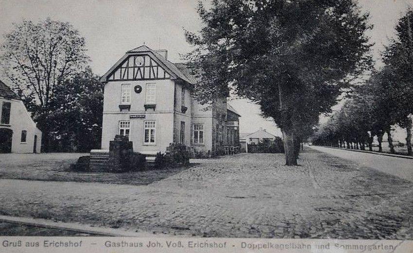 Das Gasthaus auf einer Postkarte aus den 20er Jahren / Repro: F. Römer