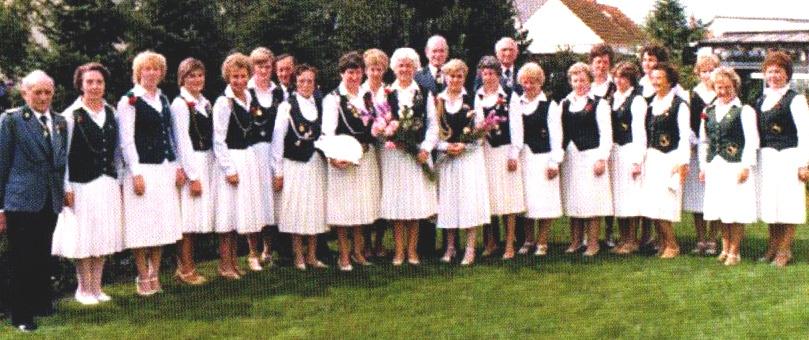 1980 Empfang bei der Kreiskönigin Meta Schober