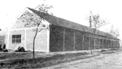 Die neue Ofenhalle (Foto: Allg. Kreisanzeiger Brinkum, 7.10.1967)