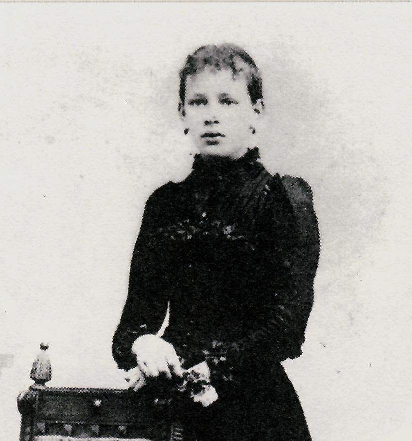 Louise Rump  Mädchenfoto / Repro: Wilfried Meyer