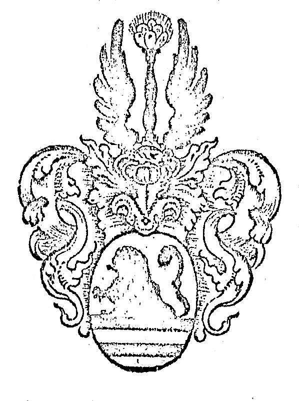 In der Chronik ist das älteste Wappen derer von Weyhe abgebildet