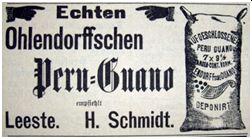 1901: Werbung für Guano-Dünger 42