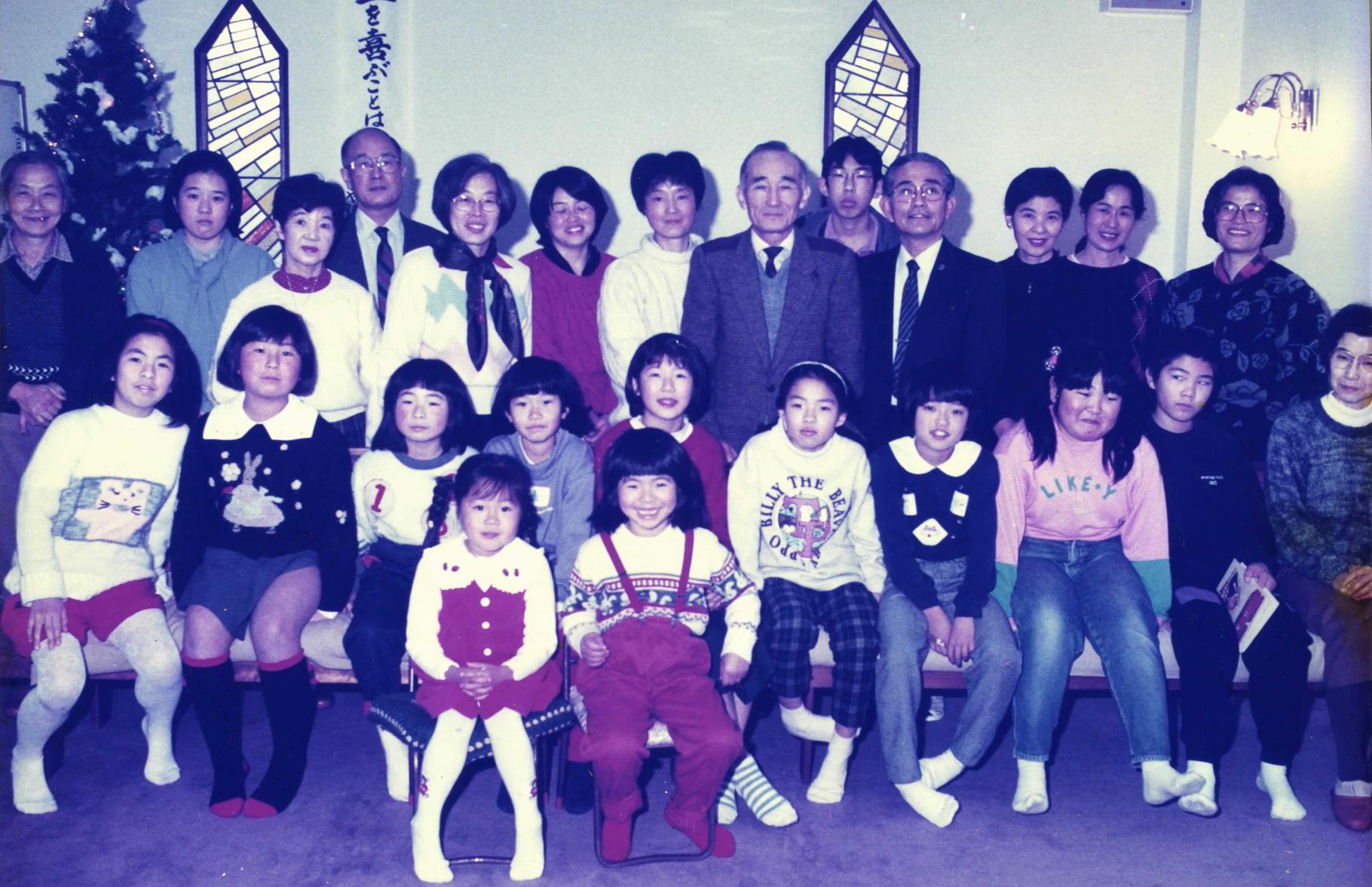 1993年の集合写真。