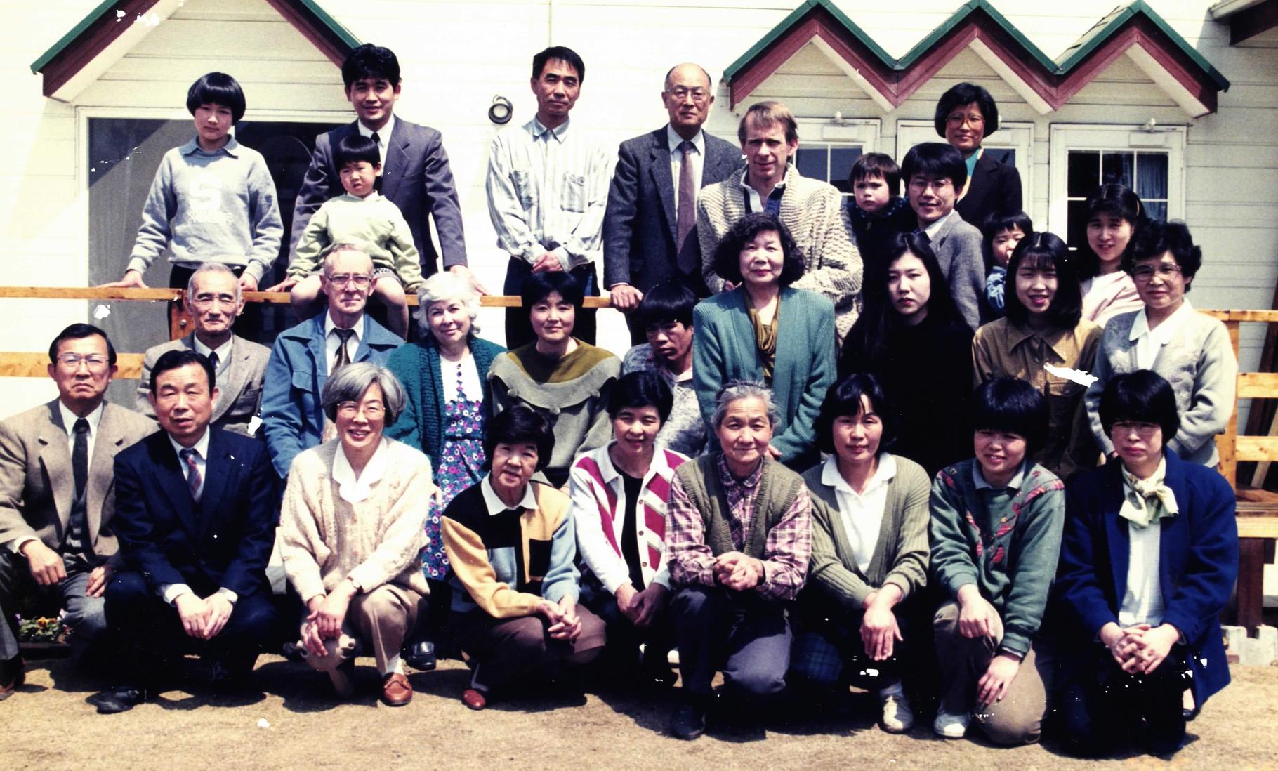 1995年の集合写真。
