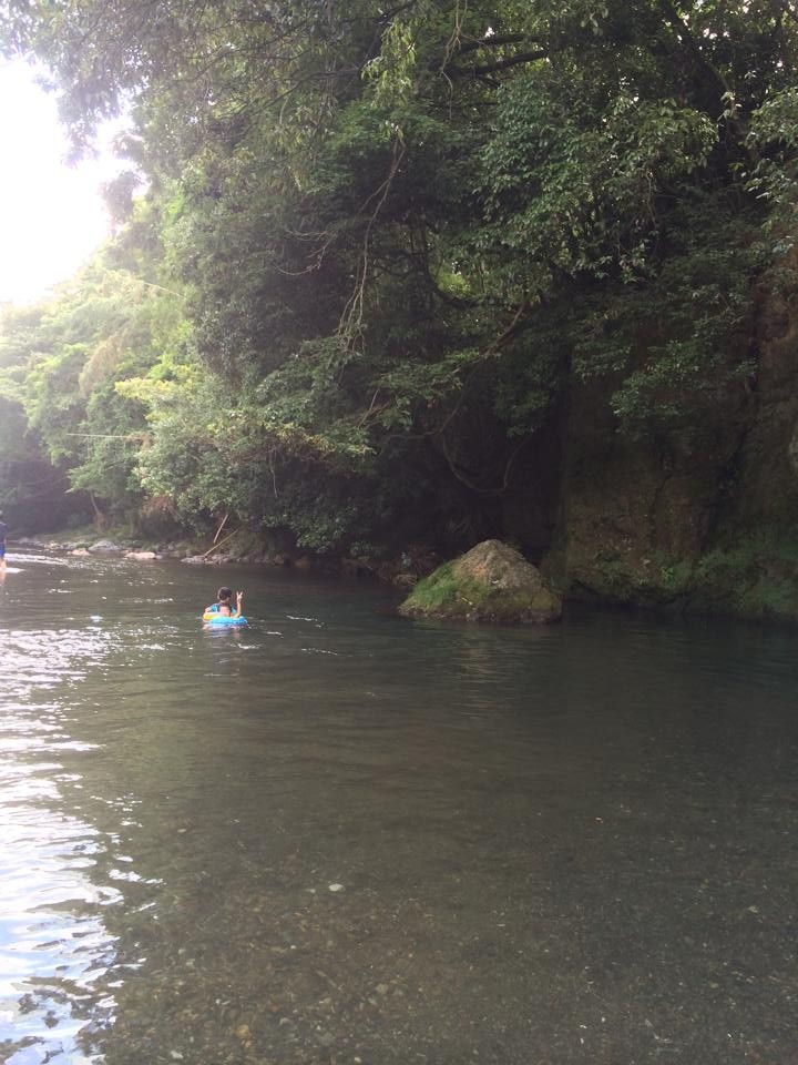 高麗川。高岡橋付近。