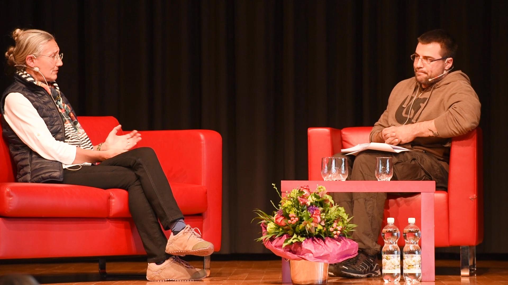 Expertengespräch zum Thema Suizid: Christiane Rösch & David Oberthaler