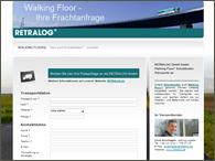 Walking Floor Transporte | Retralog