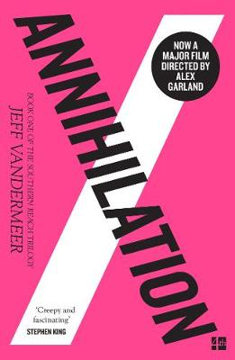 Book cover of Annihilation by Jeff Vandermeer. Review, rating and Summary
