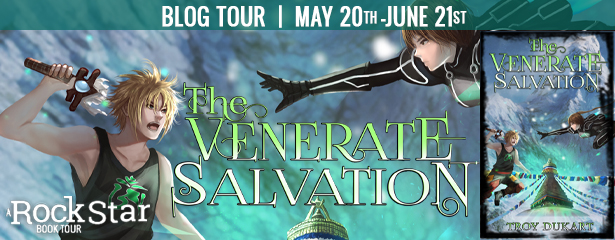 The Venerate Salvation, Book tour, banner, spotlight